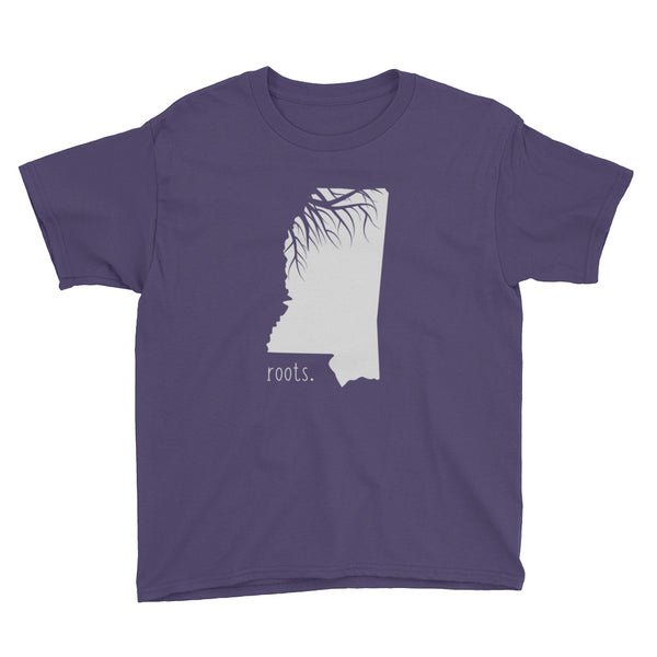 Mississippi Roots Kids Tee - OnlyInYourState Apparel