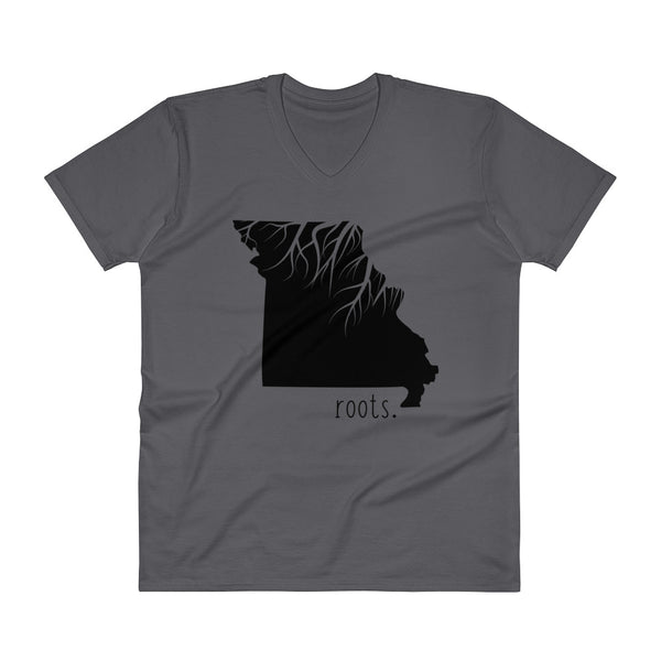 Missouri Roots V-Neck T-Shirt - OnlyInYourState Apparel