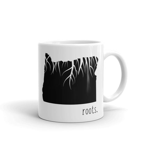 Oregon Roots Mug - OnlyInYourState Apparel