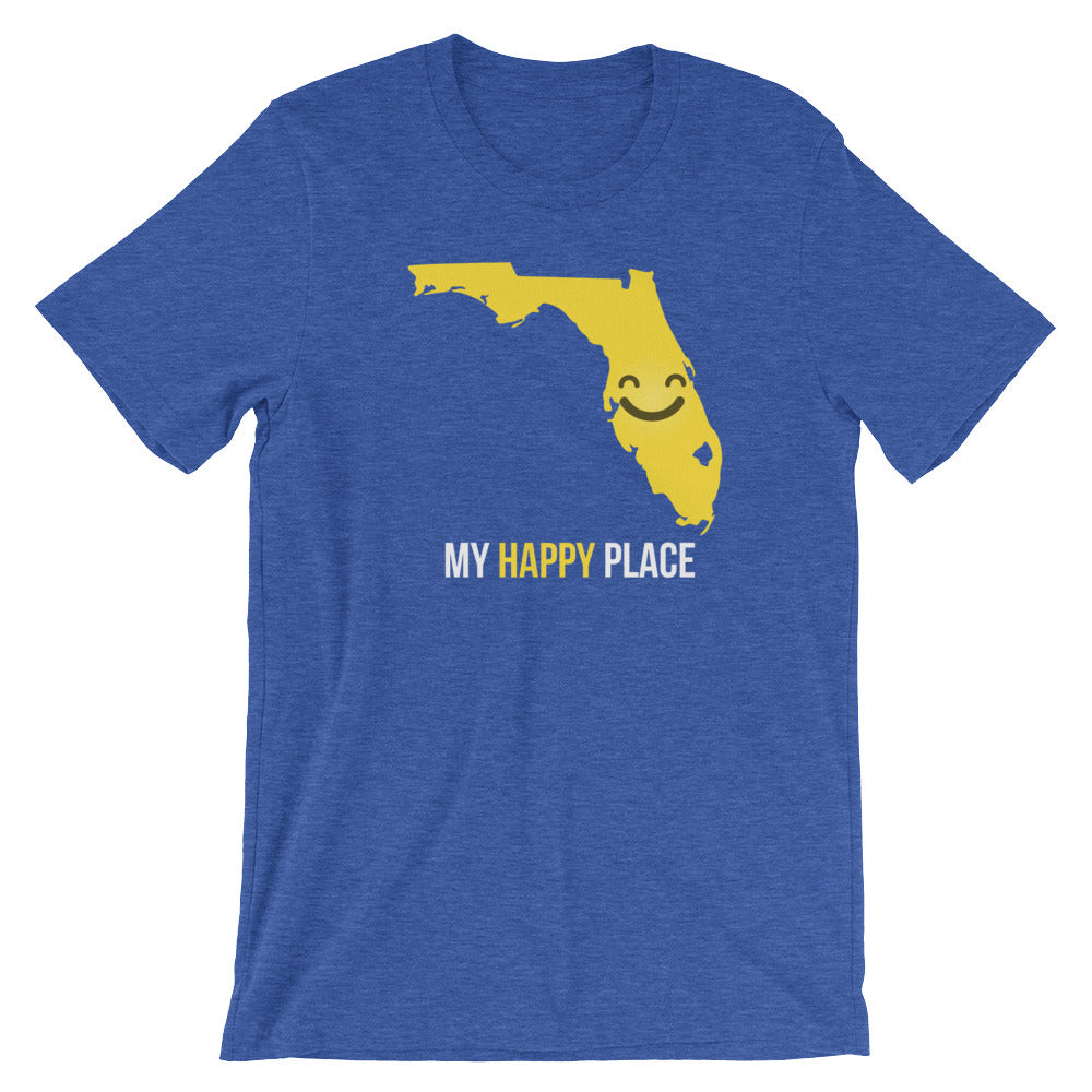 FL Is My Happy Place - OnlyInYourState Apparel