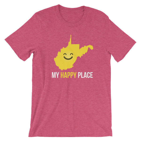 WV Is My Happy Place - OnlyInYourState Apparel