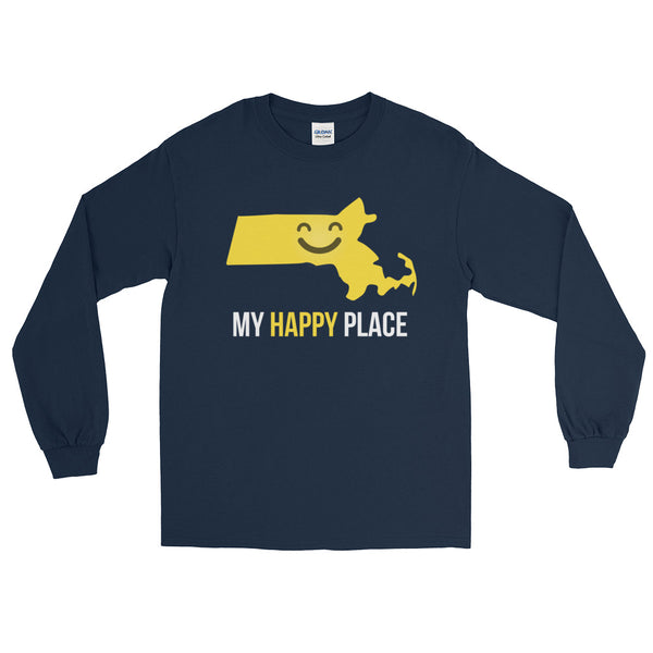 MA Is My Happy Place Long Sleeve