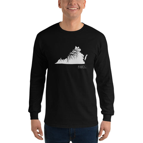 Virginia Roots Long Sleeve T-Shirt - OnlyInYourState Apparel