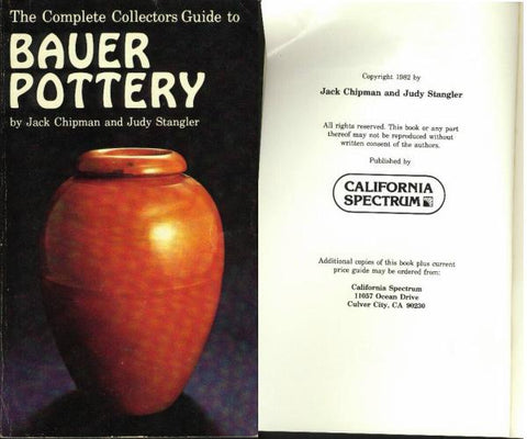bauer pottery and the history of it