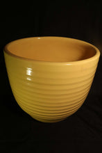 "10"" YELLOW RING JARDINIERE"