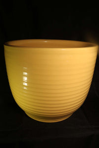 "15"" YELLOW RING JARDINIERE"