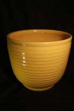 "12"" YELLOW RING JARDINIERE"