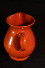 "6"" ORANGE DUTCH PITCHER"