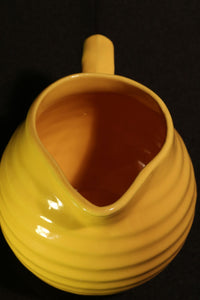 1 PT YELLOW PITCHER