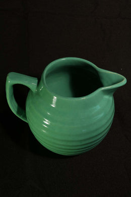 1 QT JADE GREEN BALL PITCHER