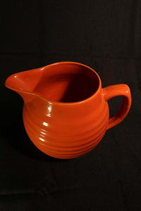 3 QT ORANGE PITCHER