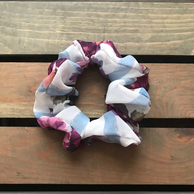 Flirty Florals Simple Scrunchies