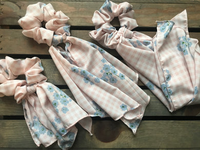 Go For Gingham Scarf Srunchie