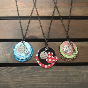 Happy Thoughts Rope Necklaces