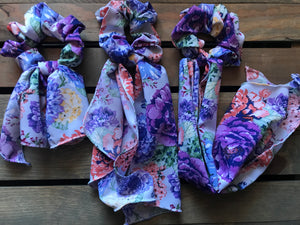 Shades of Spring Scarf Srunchie