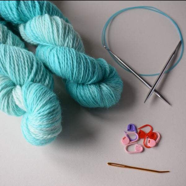 ZERO TO KNIT KIT :: New Knitters Course