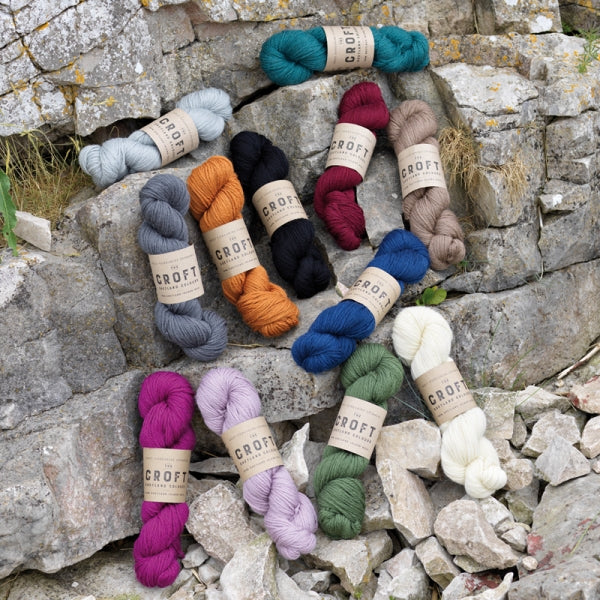 THE CROFT :: SHETLAND COLOURS ARAN