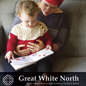 GREAT WHITE NORTH :: Classic Wintery Knits