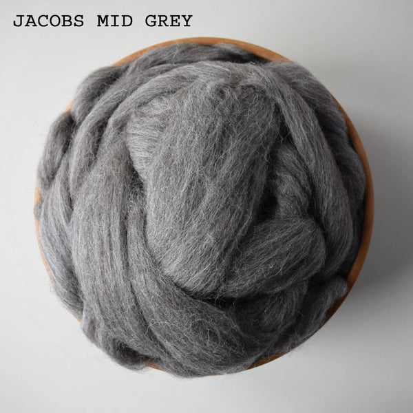 BRITISH JACOBS WOOL TOPS