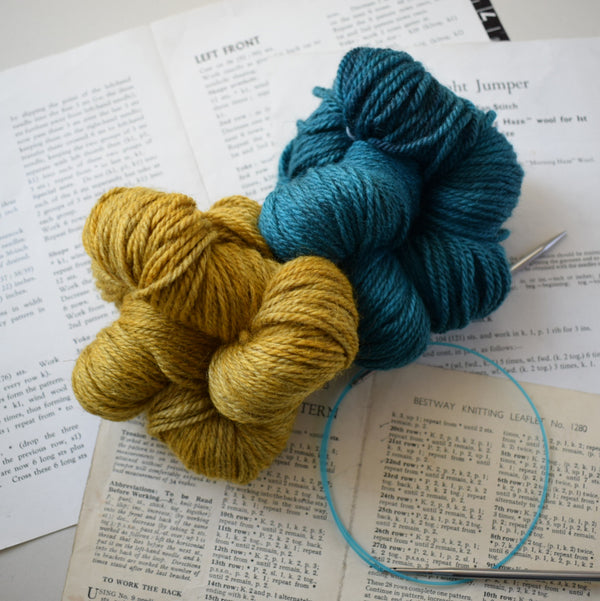 MASHAM MAYHEM ARAN :: British Masham & Bluefaced Leicester