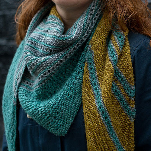 THIRSTANE SHAWL KIT :: Hand Dyed 100% British Wool