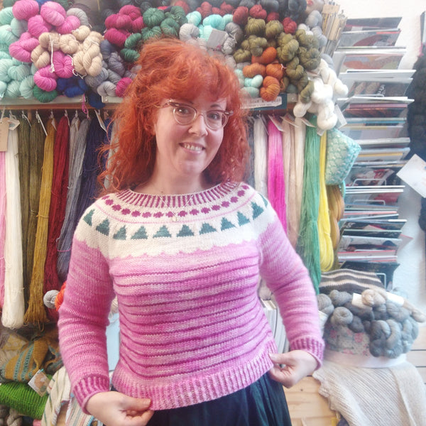 Peppermint Candy Vintage Winter Jumper Kit