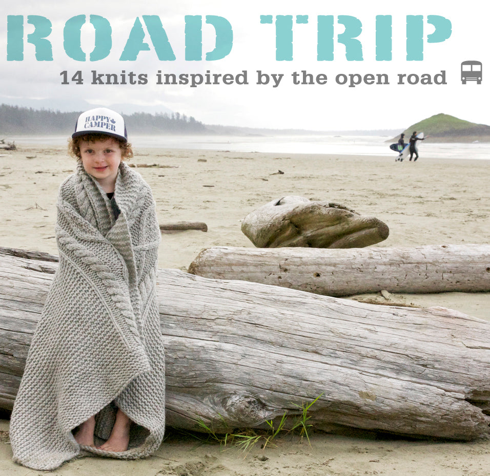 ROAD TRIP :: 14 Knits Inspired By the Open Road