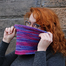 TOASTY COWL LEARN TO KNIT KIT