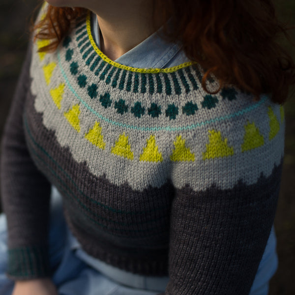 VINTAGE WINTER JUMPER PATTERN PDF
