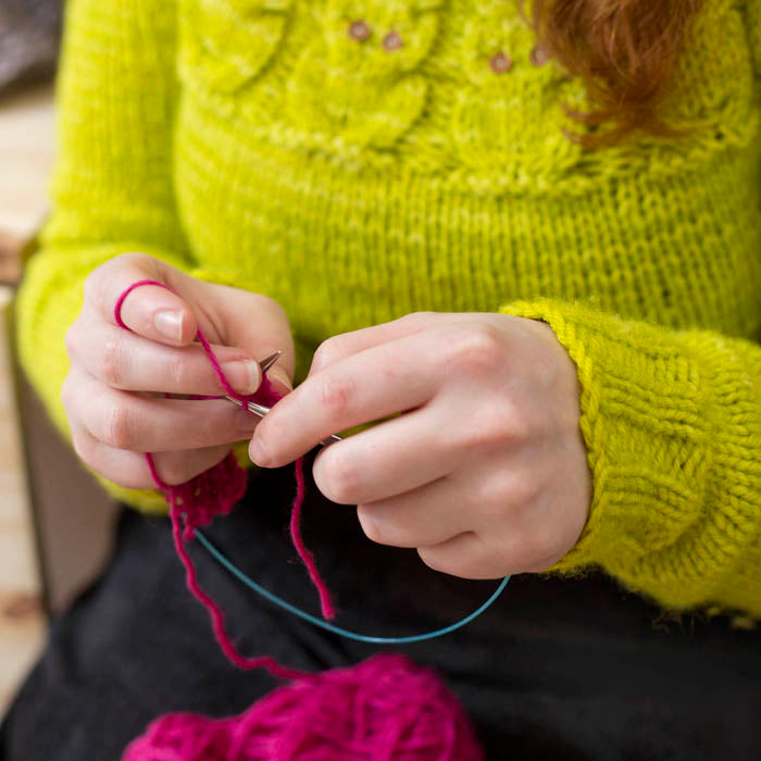 LEARN TO KNIT ONLINE :: Saturday 30 May