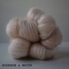 gingers hand dyed leading lady lace mohair silk hand dyed styled shot lace weight indie dyed yarn bourbon and water beige pink vintage shade