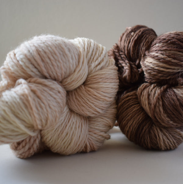 SUPER SHEEP ARAN :: Superwash British Bluefaced Leicester