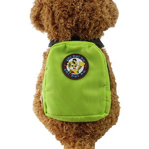 Backpack for Small Dogs and Cats with Harness leash