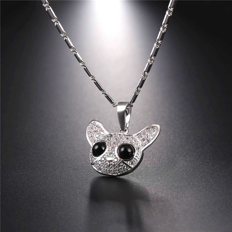 Crystal Chihuahua Necklace