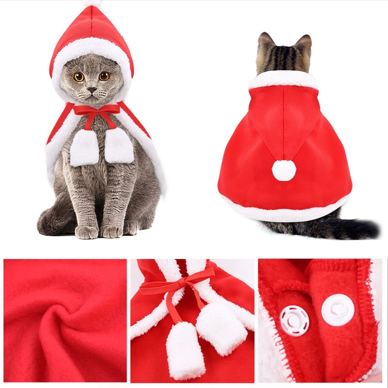 Christmas cloak for dogs