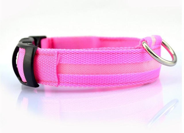 Night Safety  LED COLLAR FOR  DOGS AND CATS