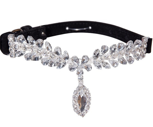 Luxury Crystal Collar for Dogs and Cats