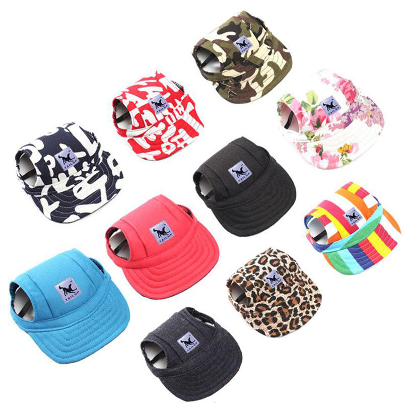 Dog Hat fashion design Baseball multicolor