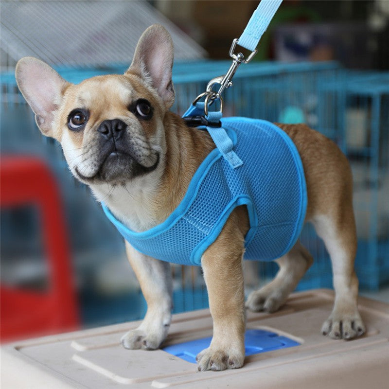 Adjustable Dog Leash Harness Collar for pets