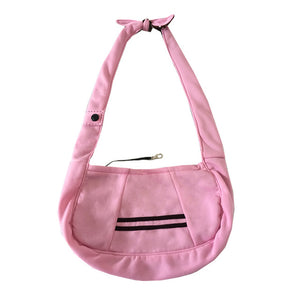 Dog Carrier Bag Single-shoulder  - Soft Cotton