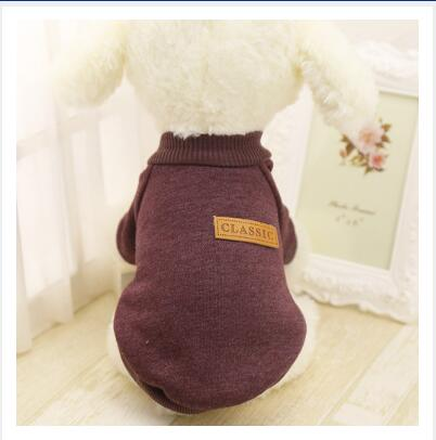 Warm Dog Sweater Cotton