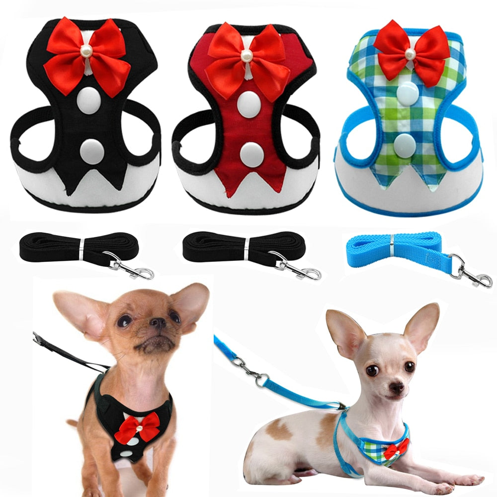 Dog Harness Vest With Leash