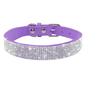 Small dog puppy cat collar Adjustable