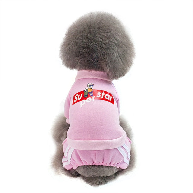 Clothes Jumpsuit for Small Dog