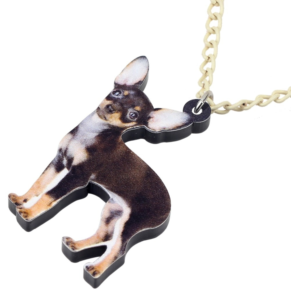 Necklace Chihuahua For Women