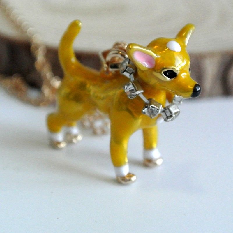 Chihuahua Necklace & Keychain