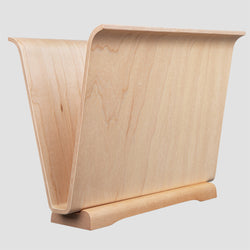 Magazine Rack in Maple Ply