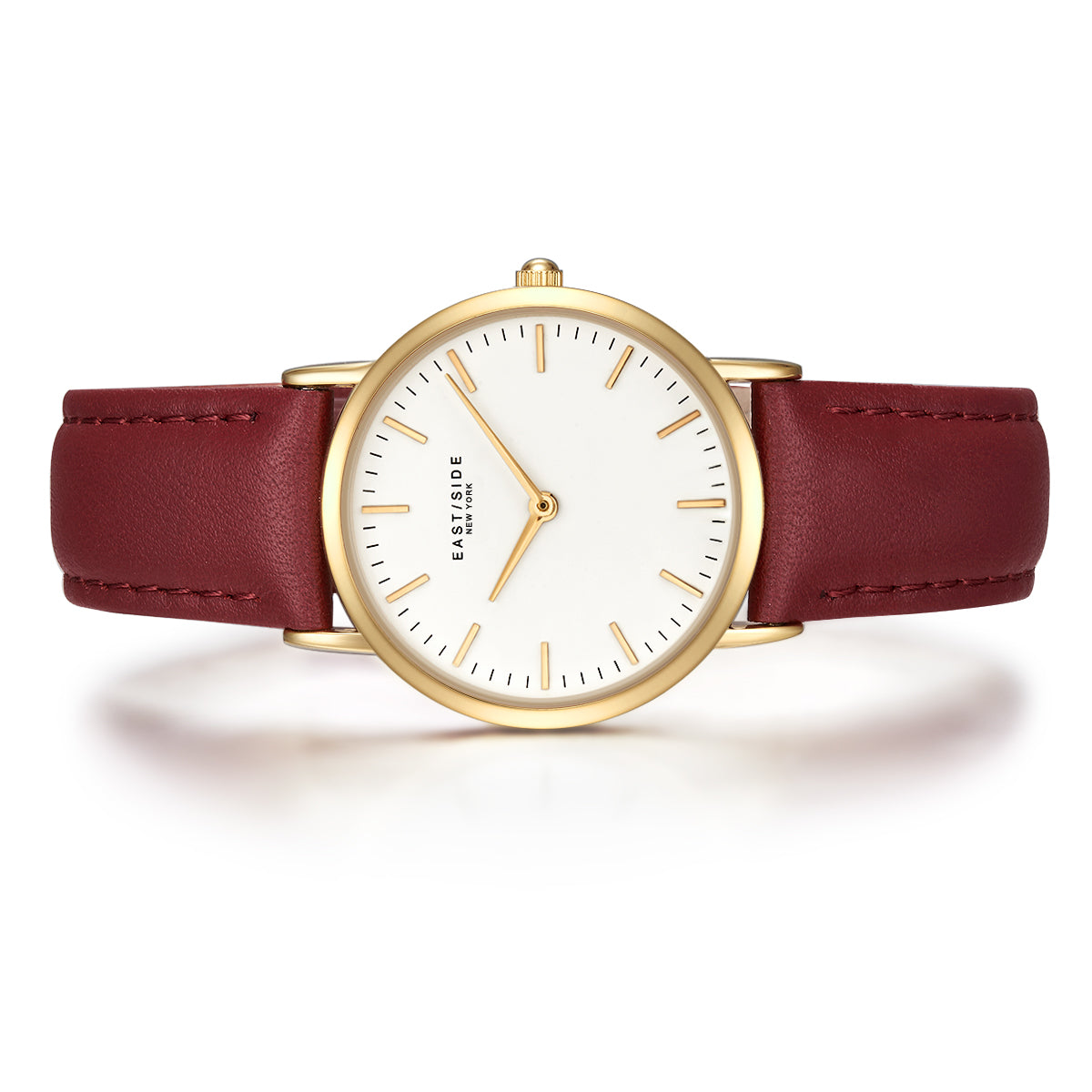 East Village Lady Watch red yellow gold