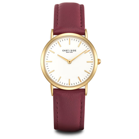East Village Lady Watch black roségold