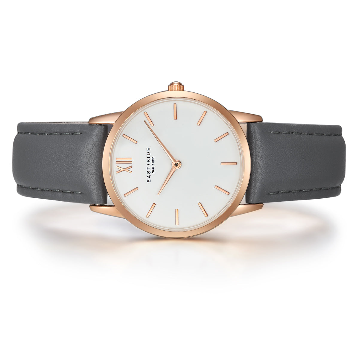 Upper Union Lady Watch dark grey roségold